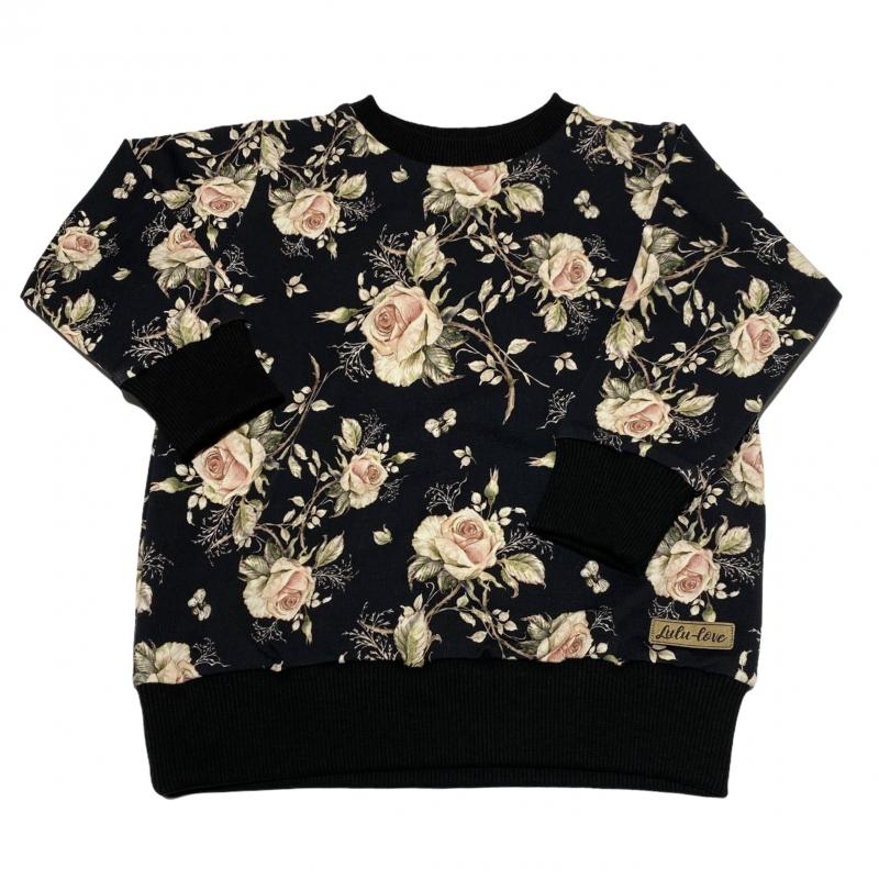 Bluza Classic Czarne Róże