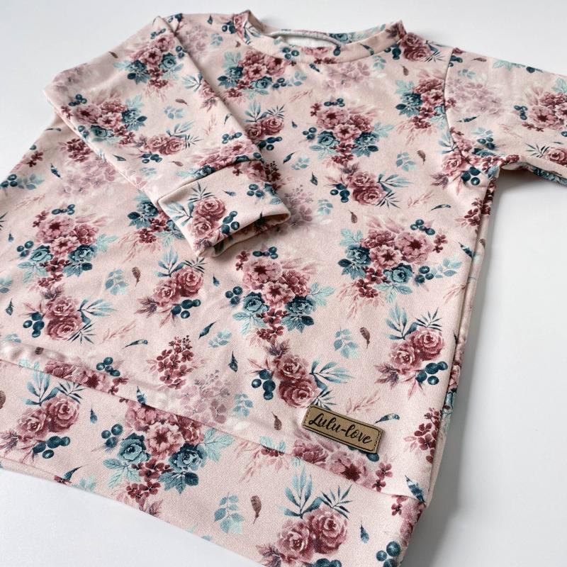 Bluza Classic Kwiaty Boho