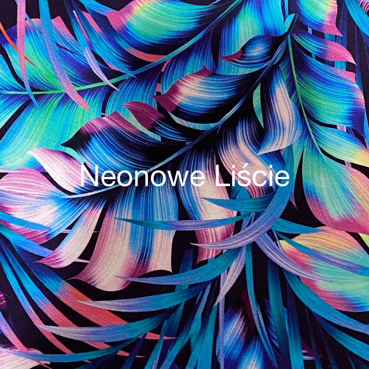 Neonowe Liście