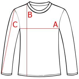 Wymiary Bluzy